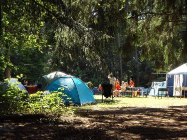 キャンプの過ごし方