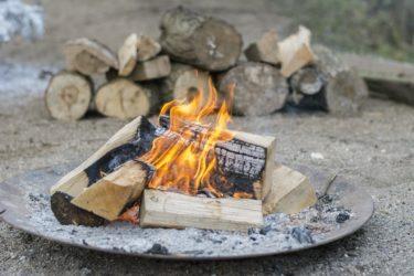 焚き火の始め方